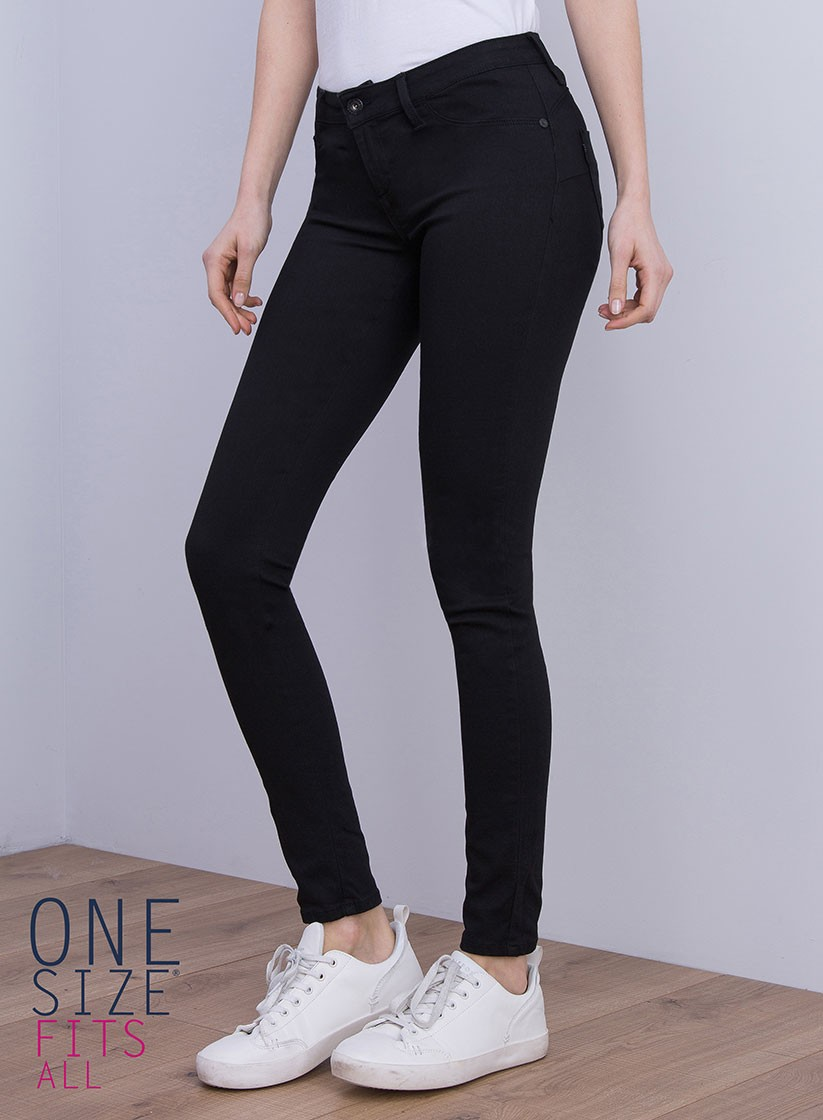 c00bd6fd9b6b4 Jeans Tiffosi push up, taille basse, skinny - One size extra stretch
