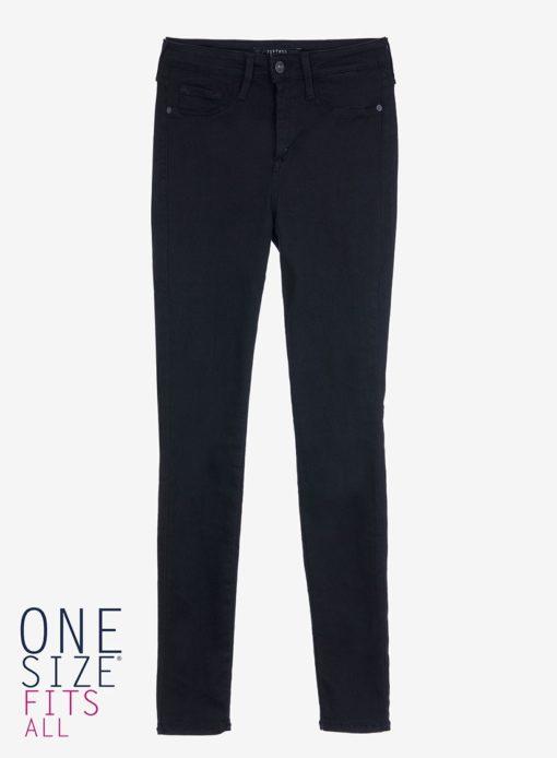 Jeans tiffosi high noir taille unique