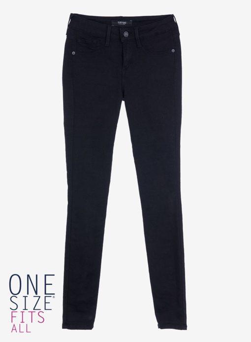 Jean tiffosi noir coupe original one size